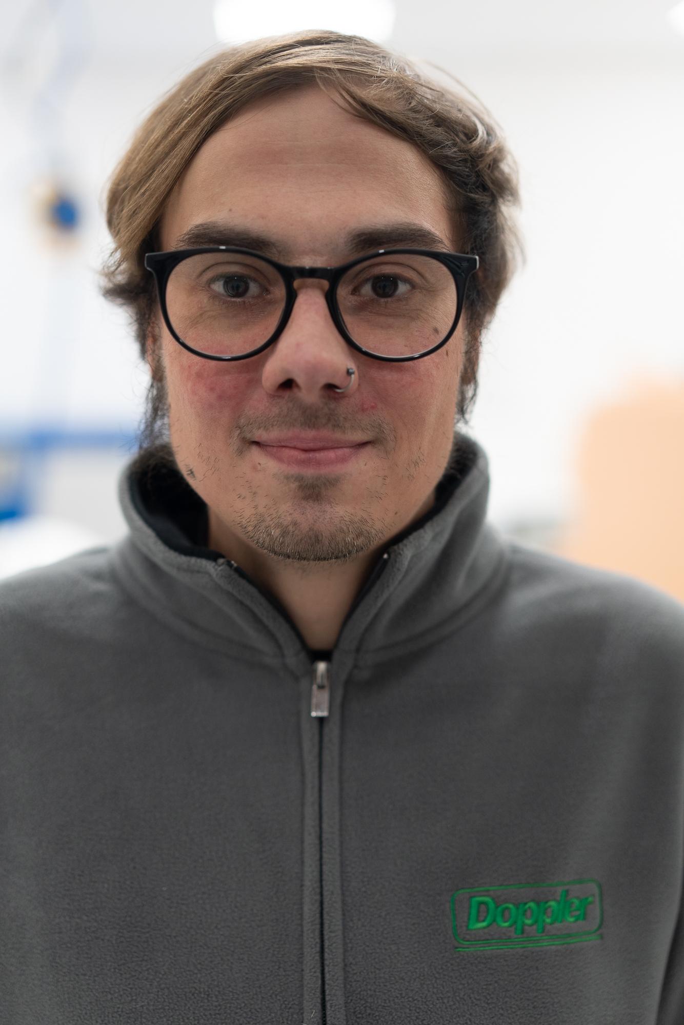 Chris Hunsicker Fachkraft fuer Lagerlogistik